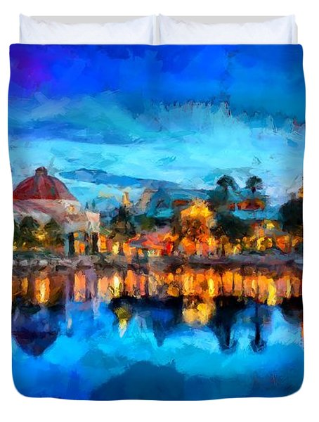 Coronado Springs Resort Duvet Cover