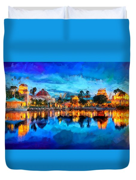 Coronado Springs Resort Duvet Cover
