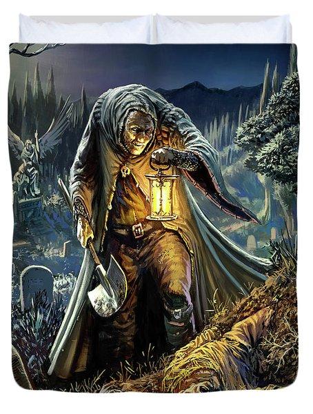 Corpse Taker Duvet Cover