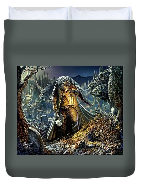 Corpse Taker Duvet Cover