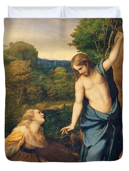 Correggio Duvet Cover by Noli Me Tangere