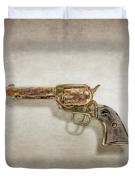 Corroded Peacemaker Duvet Cover by YoPedro