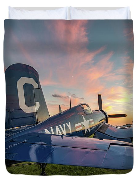 Corsair Sunset Duvet Cover