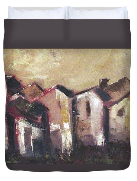 Corsica Duvet Cover by Roxy Rich