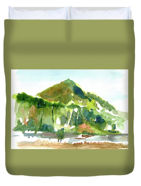Corte Madera Creek Duvet Cover