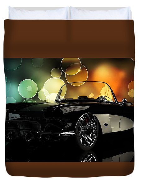 Corvette 1961 Duvet Cover