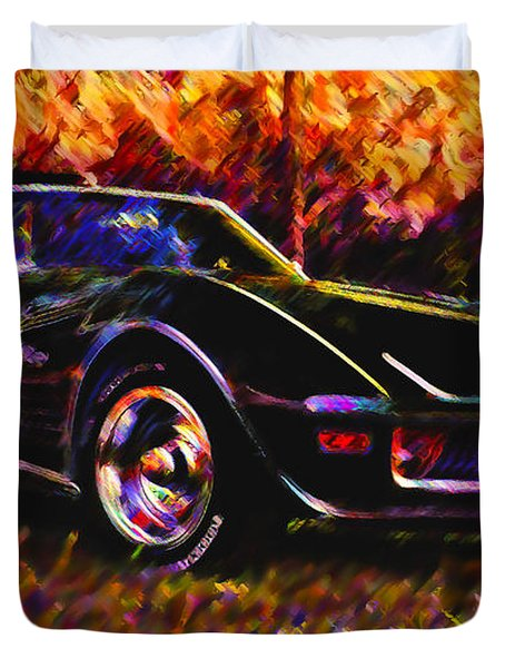 Corvette Beauty Duvet Cover