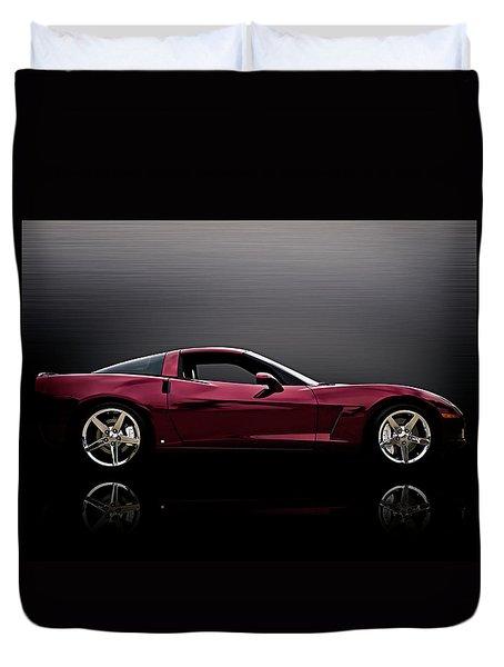 Corvette Reflections Duvet Cover