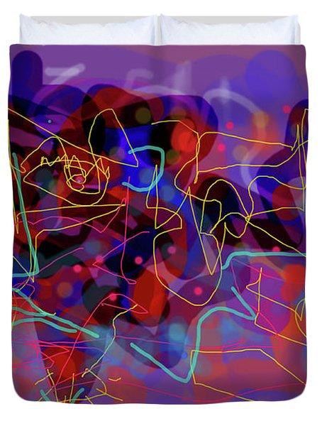 Cosmic Beast Duvet Cover