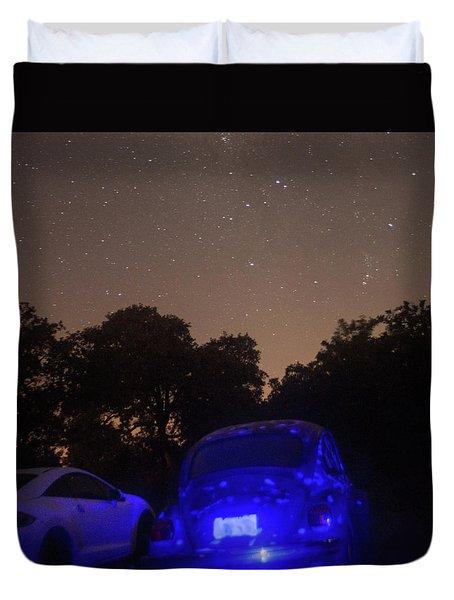 Cosmic Beetle 7 Duvet Cover by Carolina Liechtenstein