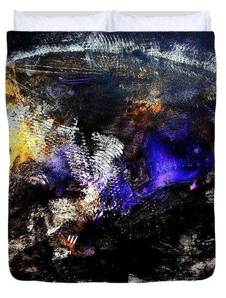 Cosmic Dream  45x60 Prints Modern Paintings Abstract Art Original Duvet Cover