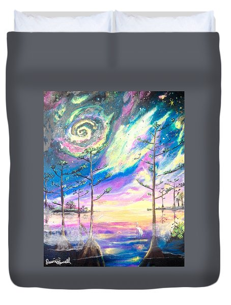 Cosmic Florida Duvet Cover
