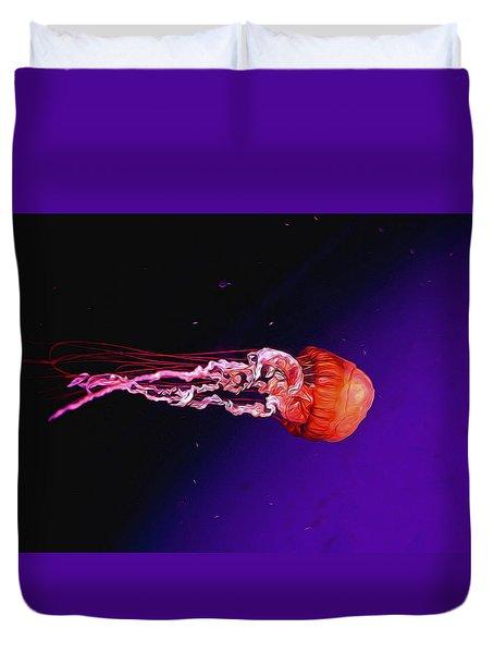 Cosmic Jelly 2 Duvet Cover