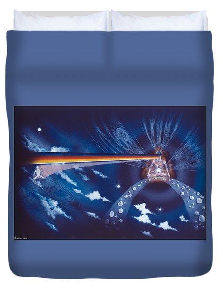 Cosmic Mediator Duvet Cover