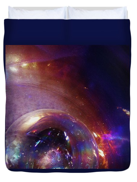 Cosmic Orb Duvet Cover