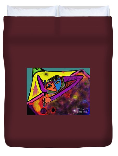 Cosmic Pool Duvet Cover