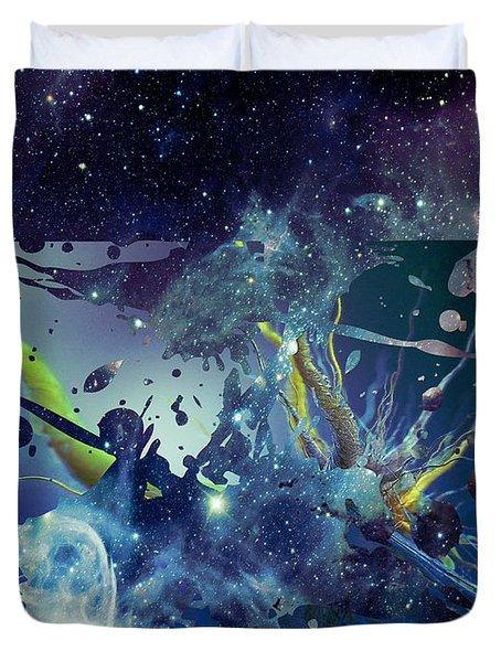 Cosmic Resonance No 1 Duvet Cover