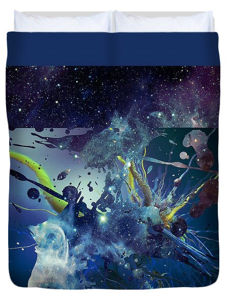Cosmic Resonance No 1 Duvet Cover