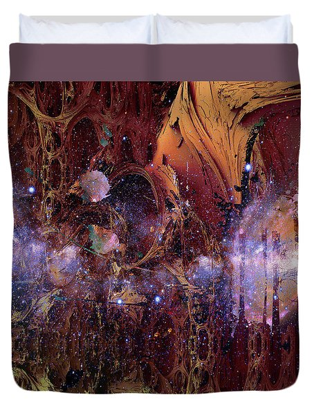 Cosmic Resonance No 2 Duvet Cover