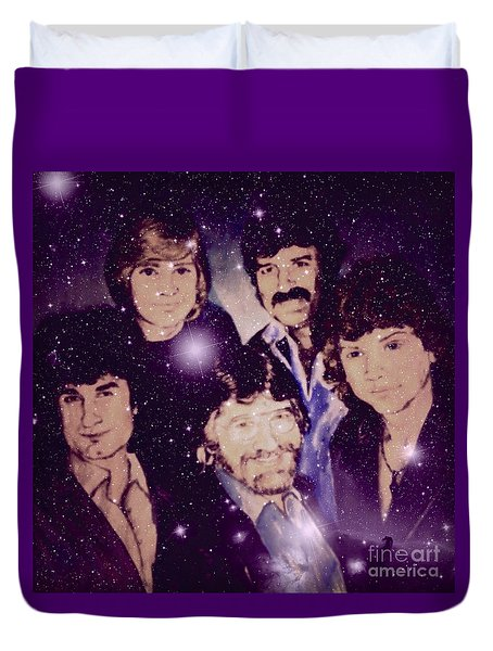 Cosmic Rockers Duvet Cover