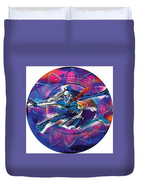 Cosmic Shiva Speed Duvet Cover