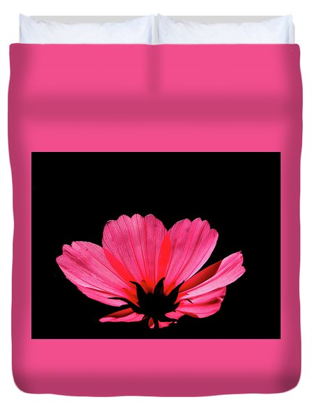 Cosmos Bloom Duvet Cover