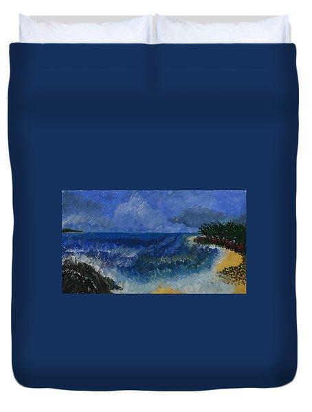 Costa Rica Beach Duvet Cover