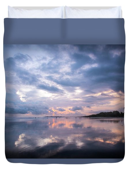 Costa Rican Sunset Duvet Cover
