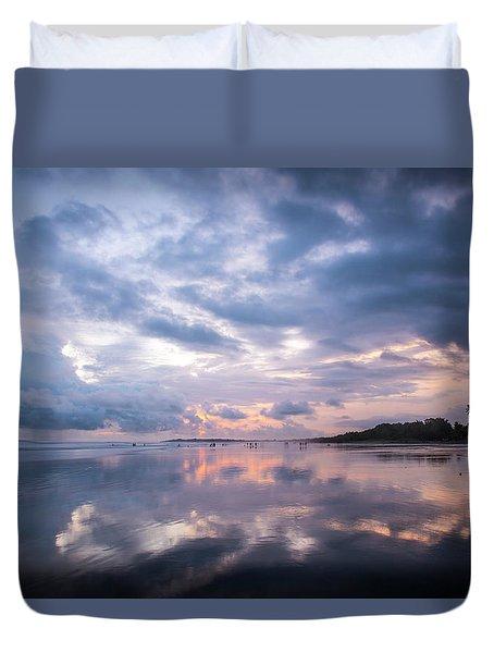 Costa Rican Sunset Duvet Cover