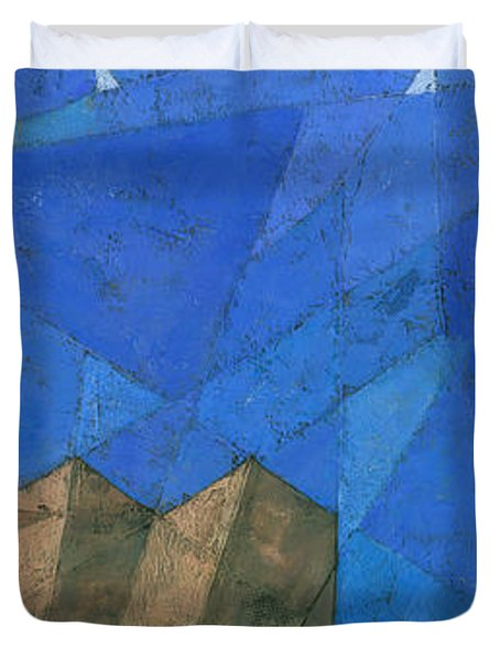 Cote D Azur I Duvet Cover by Steve Mitchell