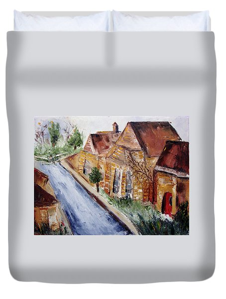 Cotswold Street Duvet Cover by Roxy Rich