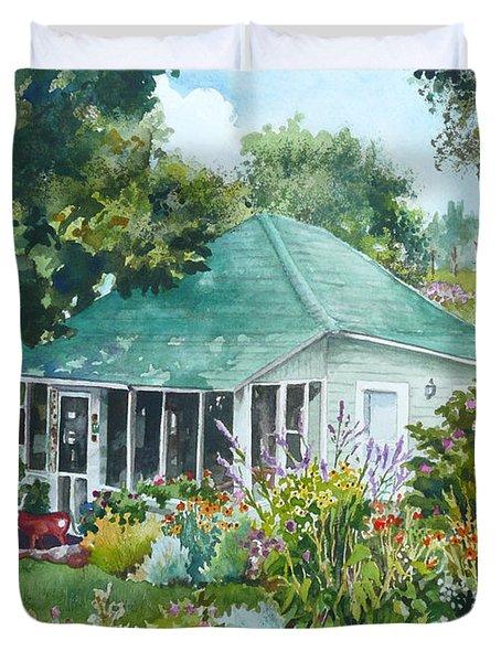 Cottage At Chautauqua Duvet Cover