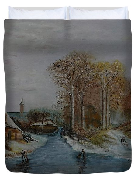 Cottage Country - Lmj Duvet Cover