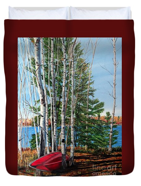 Cottage Country 2 Duvet Cover