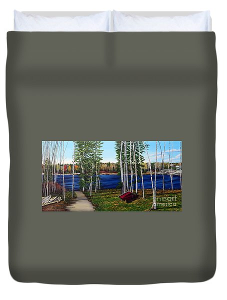 Cottage Life Duvet Cover