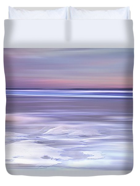 Cotton Candy Beach Duvet Cover