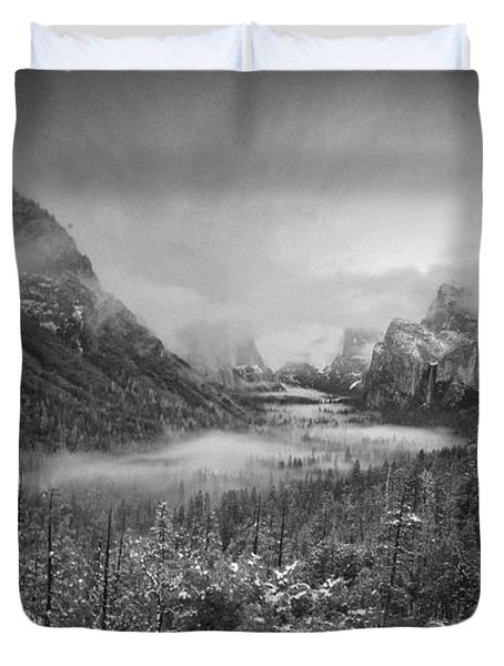 Cotton Candy Blankets Yosemite Duvet Cover