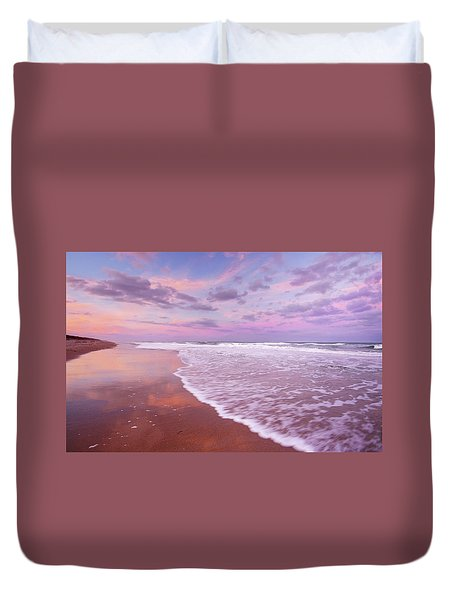 Cotton Candy Sunset. Duvet Cover
