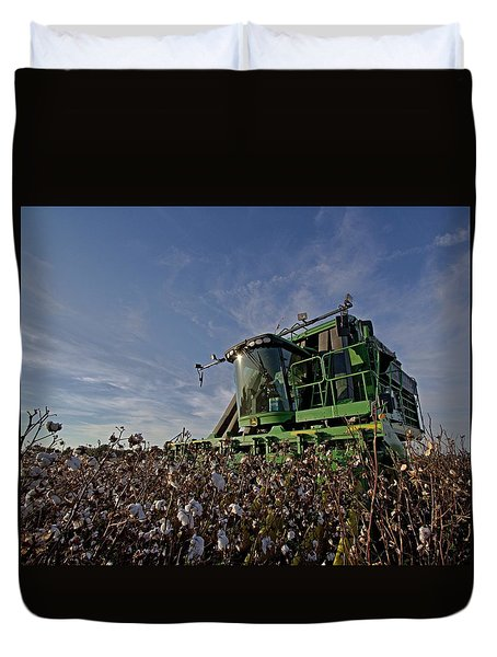 Cotton Pickin Duvet Cover