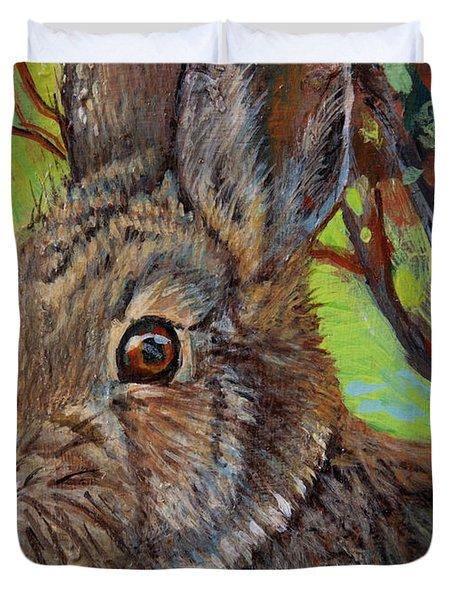 Cotton Tail Rabbit Duvet Cover