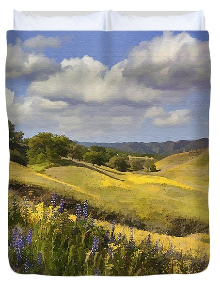 Cottonwood Canyon Duvet Cover