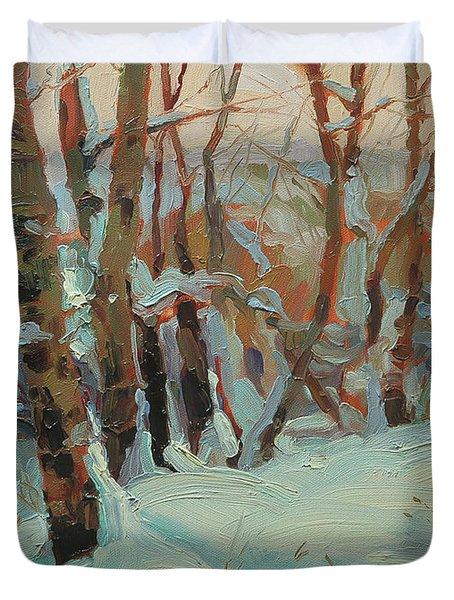 Cottonwood Grove Duvet Cover