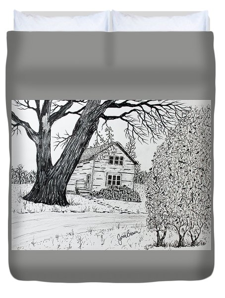 Cottonwood Homestead Duvet Cover