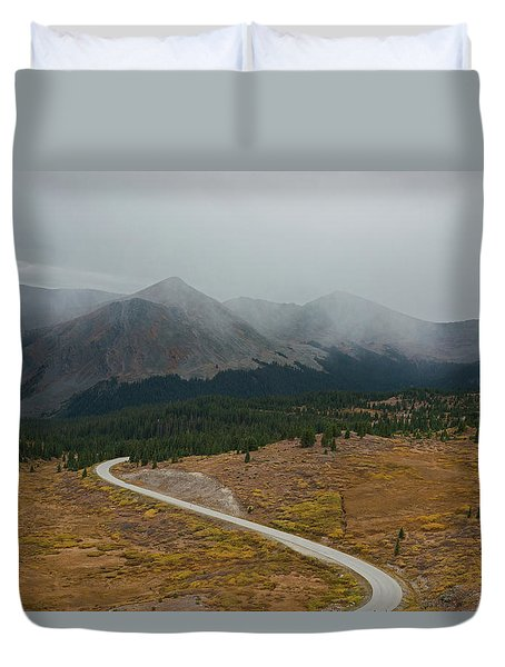 Cottonwood Pass #1 Duvet Cover