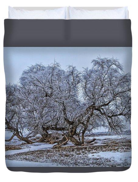 Cottonwood Sprawl Duvet Cover by Alana Thrower