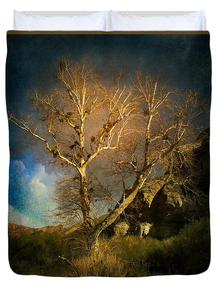 Cottonwood Tree Duvet Cover