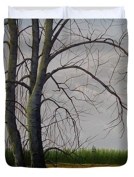 Cottonwoods Duvet Cover