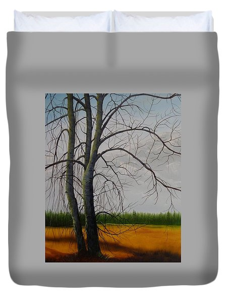 Cottonwoods Duvet Cover