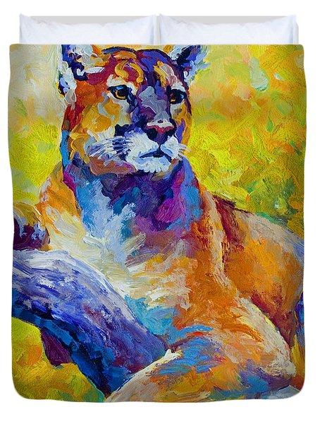 Cougar Portrait I Duvet Cover