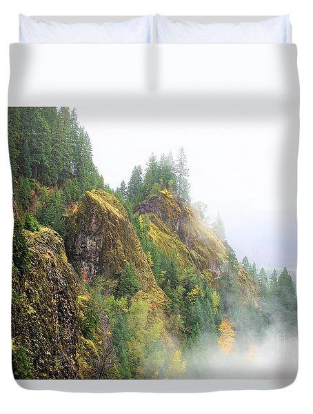 Cougar Reservoir Area Duvet Cover